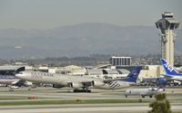 B-6053 @ KLAX - Departing LAX - by Todd Royer