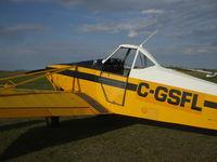 C-GSFL @ CFU3 - Edmonton Soaring Club, Chipman Airfield ,Alberta , summer 2011 - by Peter Pullishy