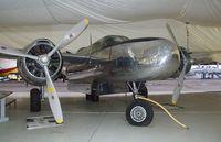 N3222T @ TMK - Douglas B-26B Invader at the Tillamook Air Museum, Tillamook OR