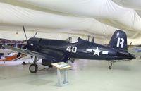 N1337A @ TMK - Vought F4U-7 Corsair at the Tillamook Air Museum, Tillamook OR