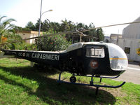 MM80502 @ LIEE - Preserved at 11th Nucleo Elicotteri Carabinieri at Cagliari-Elmas airport - by BTT