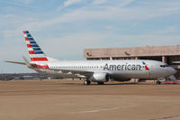 N908NN @ FTW - This is the first aircraft with American Airlines' new livery. Spotted at Meacham Field, Fort Worth, TX