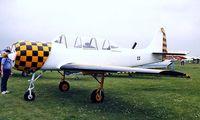 G-BXJB @ EGTC - Yakovlev Yak-52 [877403] Cranfield~G 04/07/1998 - by Ray Barber