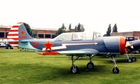 LY-ALU @ EGTC - Yakovlev Yak-52 [9011107] Cranfield~G 04/07/1998 - by Ray Barber