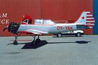 OY-YAK @ EKAH - Yakovlev Yak-52 [899408] Aarhus~OY 08/06/2000
