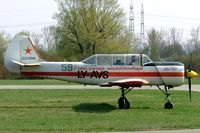 LY-AVS @ LOAU - Yakovlev Yak-52 [9111509] Stockerau~OE 16/04/2005 - by Ray Barber