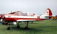 LY-AMP @ EGTC - Yakovlev Yak-52 [800708] Cranfield~G 04/07/1998 - by Ray Barber