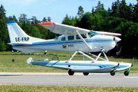 SE-FRP @ ESKB - Cessna U.206F Stationair [U206-0190] Stockholm-Barkarby~SE 01/06/2002