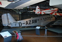 D-AZAW - Junkers Ju-52/3M at the Berlin Technical Museum - by moxy