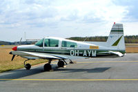 OH-AYM @ EFPO - Grumman American AA-5 Traveler [AA5-0431] Pori~OH 15/05/2003