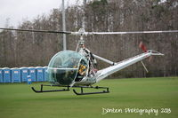 N103JA - Hiller UH-12C (N103JA) lands at JetBlue Park for the American Heroes Air Show - by Donten Photography