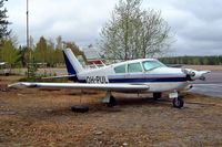 OH-PUL @ EFHV - Piper PA-24-180 Comanche [24-3021] Hyvinkaa~OH 18/05/2003