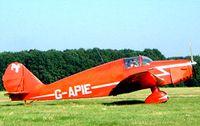 G-APIE @ EBDT - Tipsy Belfair [535] Schaffen-Diest~OO 17/08/2002 - by Ray Barber