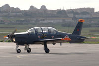 11407 @ LPST - An Epsilon trainer of the Portuguese Air Force taxying at Sintra air force base. - by Henk van Capelle