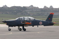 11409 @ LPST - An Epsilon trainer of the Portuguese Air Force taxying at Sintra air force base. - by Henk van Capelle