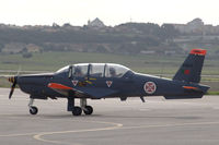 11404 @ LPST - An Epsilon trainer of the Portuguese Air Force taxying at Sintra air force base. - by Henk van Capelle