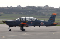 11403 @ LPST - An Epsilon trainer of the Portuguese Air Force taxying at Sintra air force base. - by Henk van Capelle
