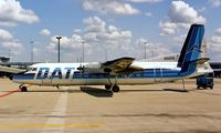 OO-DTE @ EHAM - Fairchild Hiller FH-227B [534] (DAT-Delta Air Transport) Schiphol~PH 11/06/1986.