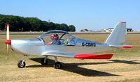 G-CBWG @ EGBP - Evektor EV-97A Eurostar [PFA 315-13918] Kemble~G 13/07/2003 - by Ray Barber