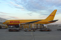N773AX @ DFW - DHL on the cargo ramp at DFW Airport