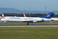 4O-AOT @ LOWW - Montenegro Airlines - by Thomas Posch - VAP
