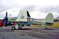 VR137 @ EGDY - Westland Wyvern TF.1 [Unknown] RNAS Yeovilton~G 15/07/1995