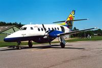 OY-SVJ @ EKAH - British Aerospace BAe Jetstream 3101 [711] (Sun Air) Aarhus~OY 08/06/2000
