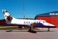 OY-SVZ @ EKAH - British Aerospace BAe Jetstream 3110 [641] (Sun Air) Aarhus~OY 08/06/2000 - by Ray Barber