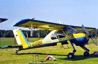 D-EGBI @ EDAN - PZL-Okecie PZL-104 Wilga 35AD [61113] Neustadt-Glewe~D 18/05/1998 - by Ray Barber