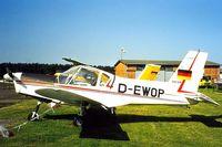 D-EWOP @ EDAN - Zlin Z.42M [0133] Neustadt-Glewe~D 18/05/1998 - by Ray Barber