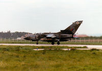 ZA599 @ EGQS - Tornado GR.1 of 12 Squadron taking off from Runway 05 at RAF Lossiemouth in the Summer of 1997. - by Peter Nicholson