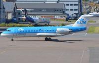 PH-KZH @ ENTO - KLM Fk70 arrived in TRP - by FerryPNL