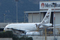 F-OOUA @ LIEO - Stored at the Meridiana maintenance center - by BTT