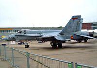 C15-43 @ EDDB - McDonnell Douglas EF-18AM Hornet [EFA-31] (Spanish AF) Schonefeld~D 06/05/2002 - by Ray Barber
