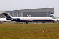 PK-FED @ WIII - McDonnell Douglas DC-9-83 [53199] (Air Efata) Jakarta - Soekarno Hatta International~PK 26/10/2006