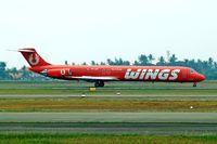 PK-LMT @ WIII - McDonnell Douglas DC-9-82 [49118] (Wings Air) Jakarta - Soekarno Hatta International~PK 26/10/2006