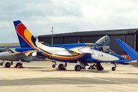 AT03 @ EGDY - Dassault-Dornier Alpha Jet 1B+ [1015] (Belgian AF) RNAS Yeovilton~G 15/07/1995