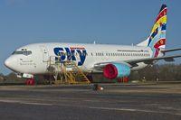 D-AGSA @ EGHL - 2000 Boeing 737-883, c/n: 28323 of German Sky at Lasham