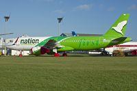 N409AG @ EGHL - First Nation  Airbus A320-212, c/n: 409 at Lasham