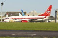 EI-CXE @ EGHL - 2002 BOEING 737-76N, c/n: 32737 in Cimber Sterling colours at Lasham