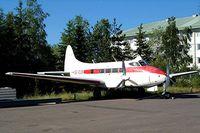 SE-EUR @ ESSA - De Havilland DH.104 Dove 6 [04496] Stockholm-Arlanda~SE 02/06/2002. Seen here in open store prior to being transfered to the Arlanda Flygsamlingar museum.