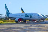 TC-SKH @ EGHL - 2007 Boeing 737-8BK, c/n: 29644 of Sky Airlines at Lasham