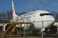 G-PJPJ @ EGHL - 1994 Boeing 737-5H6, c/n: 27355 in Icelandair Express livery at Lasham