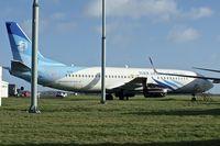 YA-PIE @ EGHL - Boeing 737-4Y0, c/n: 26086 of Pamir Airways