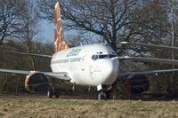 N615SC @ EGHL - Zambezi Airlines - Boeing 737-5YO, c/n: 2610o - at Lasham