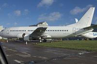 LN-KKR @ EGHL - 1988 Boeing 737-3Y0, c/n: 24256 at Lasham - by Terry Fletcher