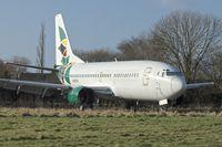 N279CS @ EGHL - Air Nigeria's1999 Boeing 737-33V, c/n: 29337 at Lasham