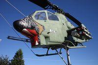 68-17023 - AH-1 Cobra in a park near Cocoa Beach - by Florida Metal