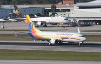 9Y-JMB @ KFLL - Boeing 737-800
