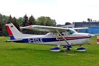 D-ECLE @ EDBK - R/Cessna F.172N Skyhawk [1563] Kyritz~D 20/05/2006 - by Ray Barber